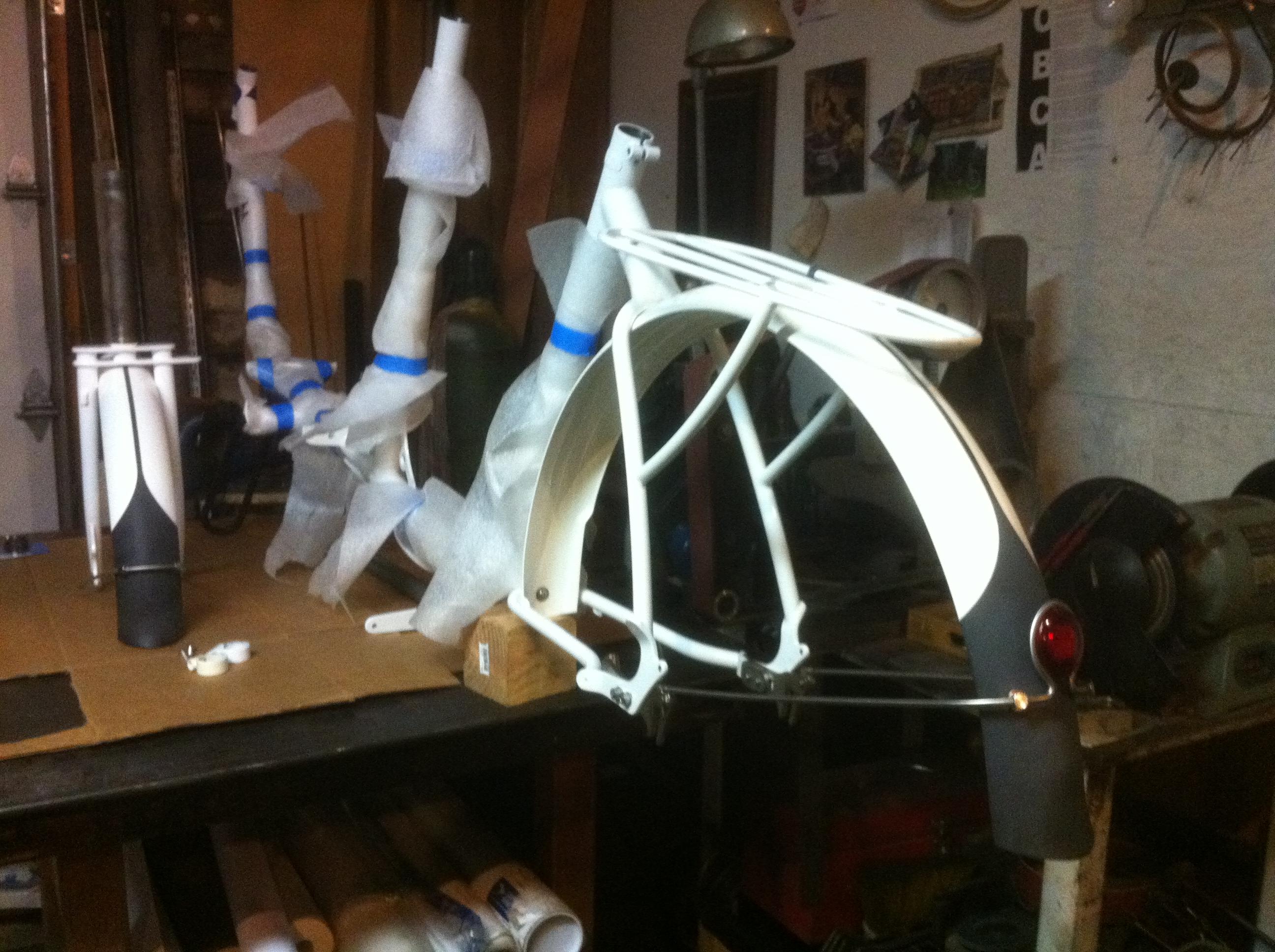 Metrofiets Bike Frame